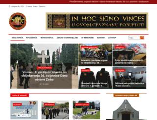 4brigada-zng.hr screenshot