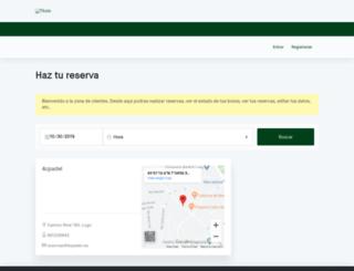 4cpadel.padelclick.com screenshot