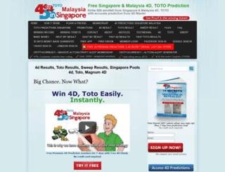 4dinsingapore.com screenshot