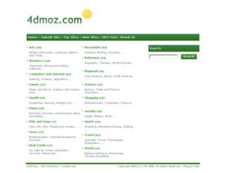 4dmoz.com screenshot