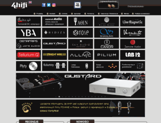4hifi.pl screenshot