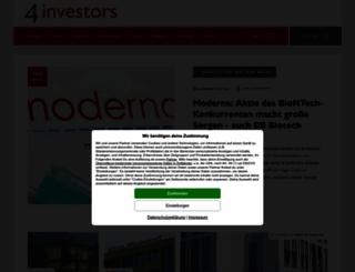 4investors.de screenshot