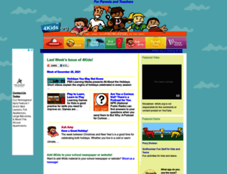 4kids.org screenshot
