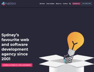 4mation.com.au screenshot