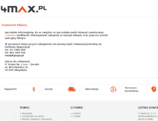4max.pl screenshot
