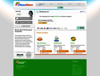 4teamstore.com screenshot