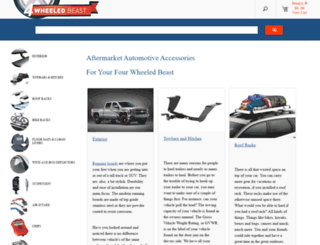 4wheeledbeast.com screenshot