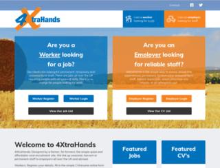 4xtrahands.com screenshot