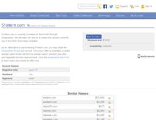 51intern.com screenshot