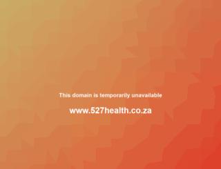 527health.co.za screenshot
