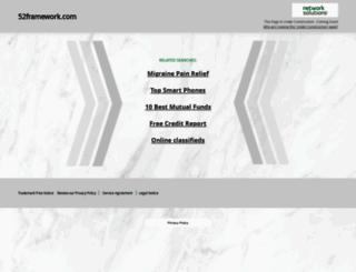 52framework.com screenshot