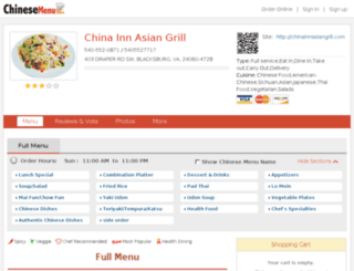 540-552-0871.chinesemenu.com screenshot