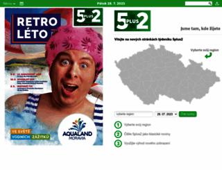 5plus2.cz screenshot