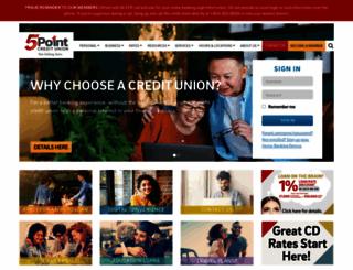 5pointcu.org screenshot