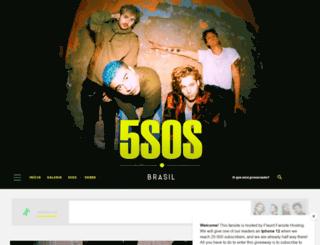 5sosbrasil.com screenshot