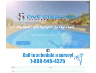 5starpoolpros.com screenshot