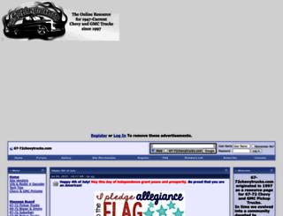 67-72chevytrucks.com screenshot