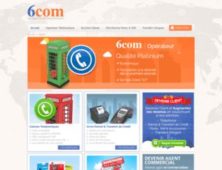 6com.fr screenshot