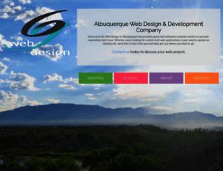 6gwebdesign.com screenshot