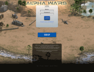 7.alphawars.com screenshot