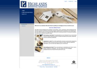 7645115461.mortgage-application.net screenshot