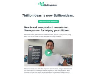 7billionideas.com screenshot