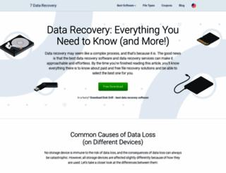 7datarecovery.com screenshot