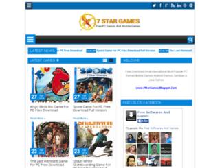 7stargames.blogspot.com screenshot