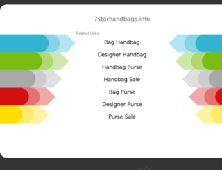 7starhandbags.info screenshot