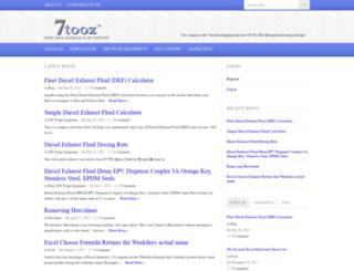 7tooz.com screenshot