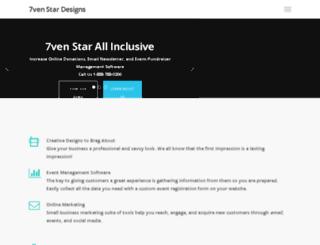 7venstardesigns.com screenshot
