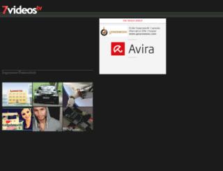 7videos.tv screenshot