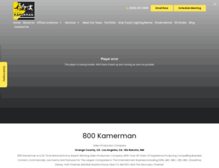 800kamerman.com screenshot
