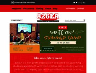 826la.org screenshot
