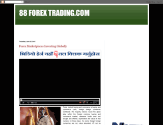 88forextrading.blogspot.co.il screenshot