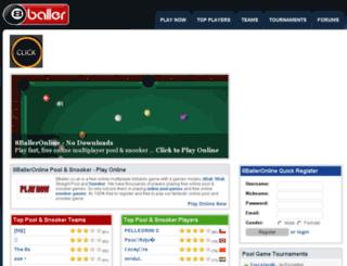 8baller.co.uk screenshot