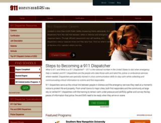 911dispatcheredu.org screenshot