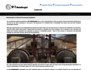 911metallurgist.com screenshot