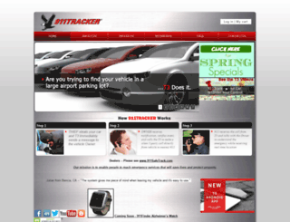911tracker.com screenshot