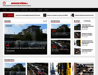 91secondes.fr screenshot