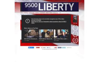 9500liberty.com screenshot