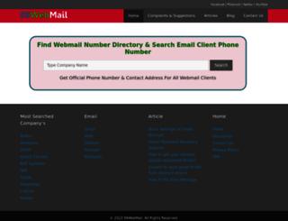 99webmail.com screenshot