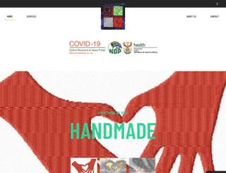 9andthreequarters.co.za screenshot