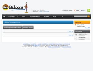 9icebid.com screenshot