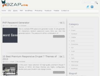 9zap.com screenshot