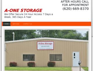 a-onestorage.com screenshot