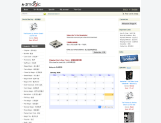 a-zmagic.com screenshot