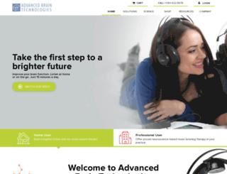 a.advancedbrain.com screenshot