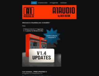 a1audio.de screenshot