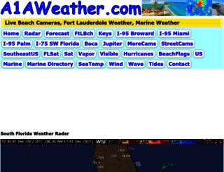 a1aweather.com screenshot